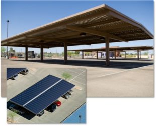 solar-covered-parking-area-thin-film-panels